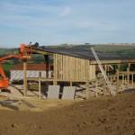Hay Barn Construction